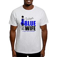 IWearBlue Wife T-Shirt