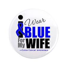 """IWearBlue Wife 3.5"""" Button"""