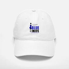 IWearBlue Wife Baseball Baseball Cap