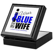 IWearBlue Wife Keepsake Box