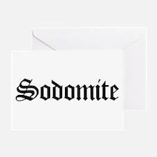 Sodomite Greeting Card