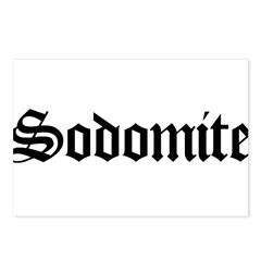 Sodomite Postcards (Package of 8)