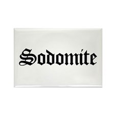 Sodomite Rectangle Magnet