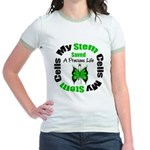 Stem Cells Saved Life Jr. Ringer T-Shirt
