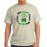 Stem Cells Saved Life Light T-Shirt