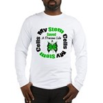 Stem Cells Saved Life Long Sleeve T-Shirt