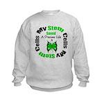 Stem Cells Saved Life Kids Sweatshirt