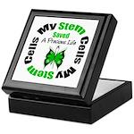 Stem Cells Saved Life Keepsake Box