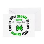 Stem Cells Saved Life Greeting Card