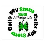 Stem Cells Saved Life Small Poster