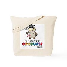 Preschool Graduate 2012 - Owl Tote Bag
