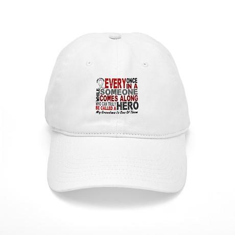 HERO Comes Along 1 Grandma LUNG CANCER Cap