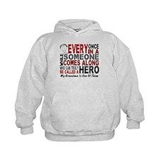 HERO Comes Along 1 Grandma LUNG CANCER Hoody
