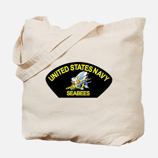 Cute Seabee construction Tote Bag