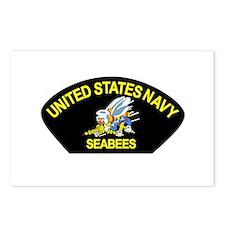 Cute Navy seabee Postcards (Package of 8)