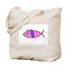 Princess Diva  Fish Tote Bag