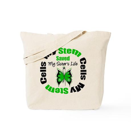 MyStemCellsSavedSister Tote Bag