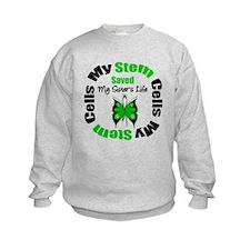 MyStemCellsSavedSister Sweatshirt