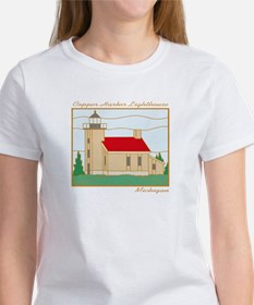 Copper Harbor Lighthouse Tee