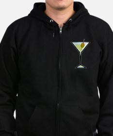 Dirty Martini Zip Hoodie (dark)
