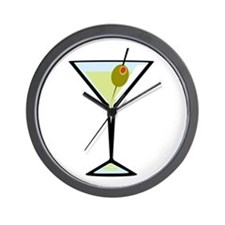 Dirty Martini Wall Clock