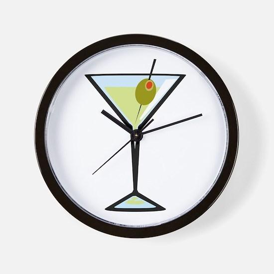 Dirty Martini Wall Clock