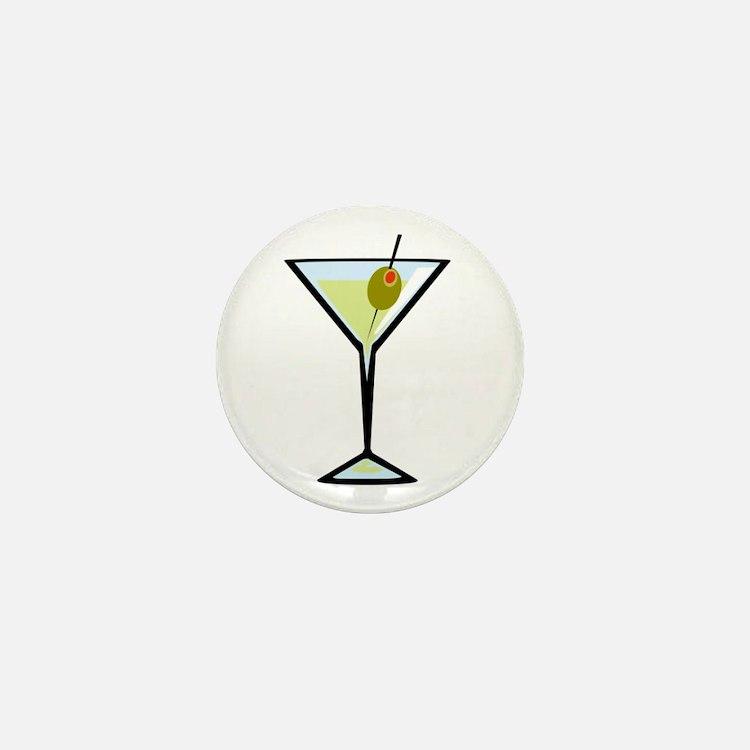Dirty Martini Mini Button