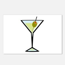 Dirty Martini Postcards (Package of 8)