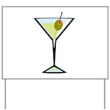 Dirty Martini Yard Sign