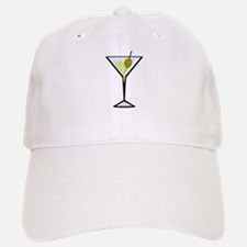Dirty Martini Baseball Baseball Cap