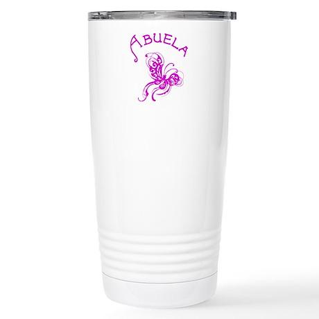 Abuela Butterfly Stainless Steel Travel Mug