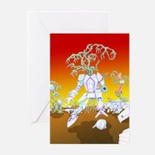 Cool Christmas thank you Greeting Cards (Pk of 10)