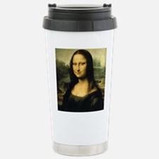 Mona Lisa Stainless Steel Travel Mug