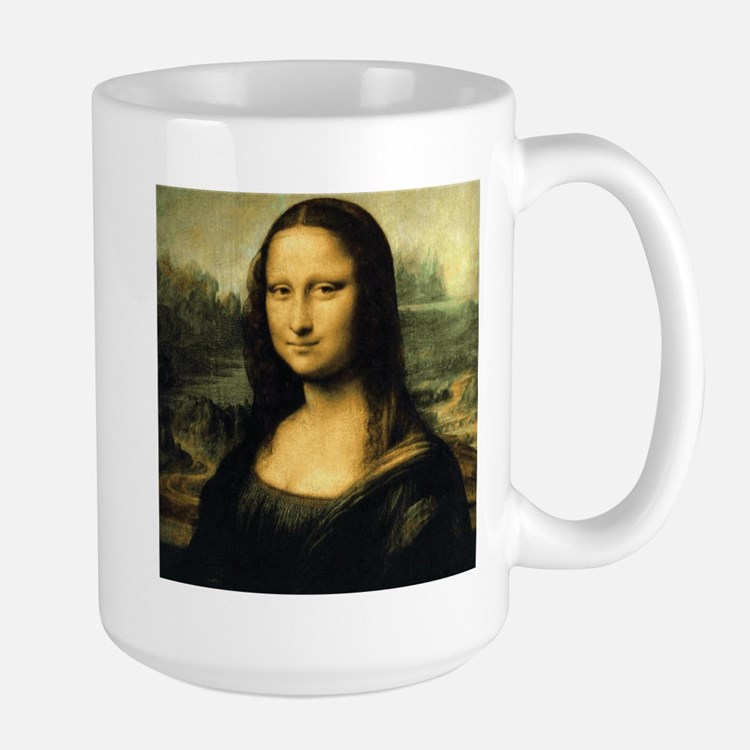 Mona Lisa Large Mug