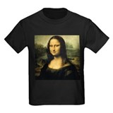 Mona lisa Kids T-shirts (Dark)