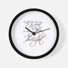 oddFrogg Twilight Moonlight Wall Clock