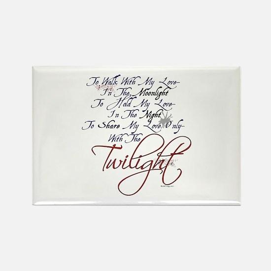 oddFrogg Twilight Moonlight Refrigerator Magnet