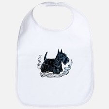 Scottish Terrier Style Bib