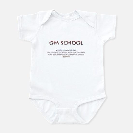Om School Infant Bodysuit
