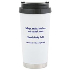 Whips and Sticks Travel Mug