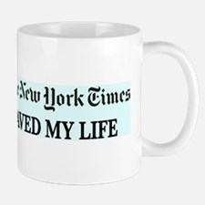 Unique New york times Mug