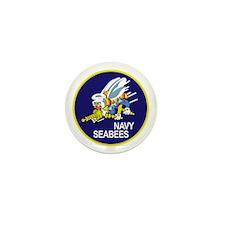 Cute Seabees Mini Button