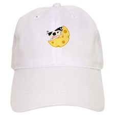 Cow Jumped Over the Cheese Mo Baseball Cap