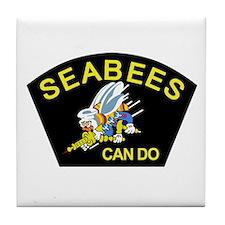 Unique Seabees Tile Coaster