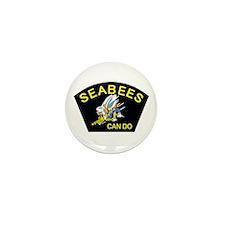 Unique Seabees Mini Button (10 pack)