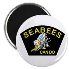 Cool Seabees Magnet