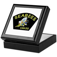 Cool Seabee Keepsake Box