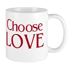 Choose Love Mug - double image