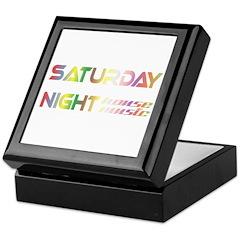 Saturday Night House Music Keepsake Box