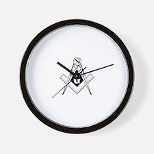 Blue Lodge Wall Clock